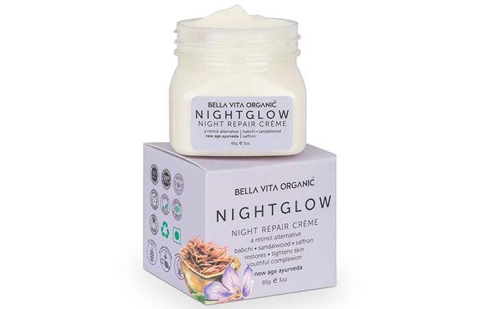 Bella Vita Organic Night Glow Repair Cream