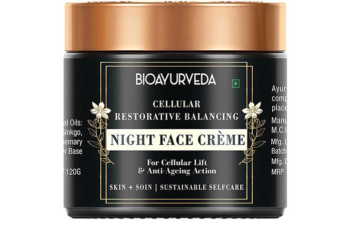 Bioayurveda Cellular Restorative Balancing Night Face Cream