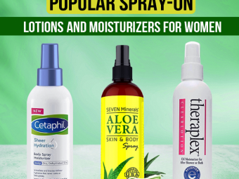 8 Best Popular Spray-On Lotions And Moisturizers For Women