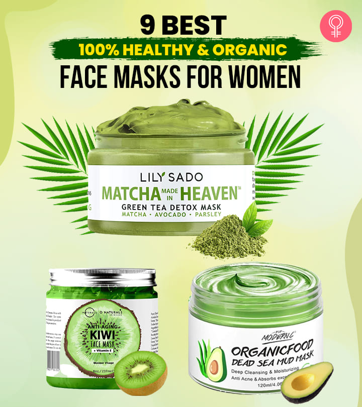 9 Best 100% Healthy And Organic Face Masks For Women Of 2021