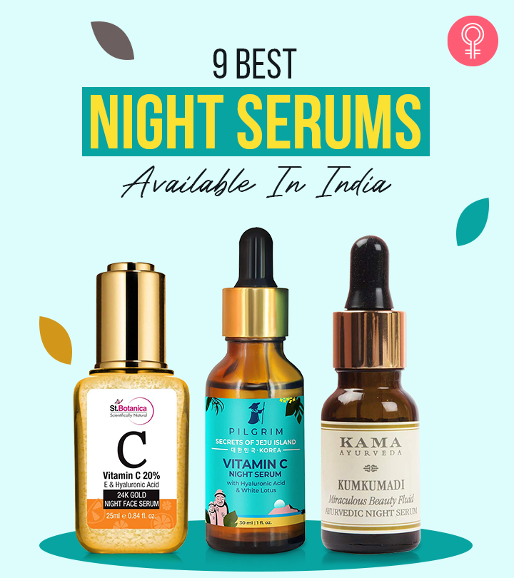 9 Best Night Serums Available In India