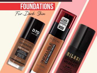 9 Best Recommended Drugstore Foundations For Dark Skin Of 2021