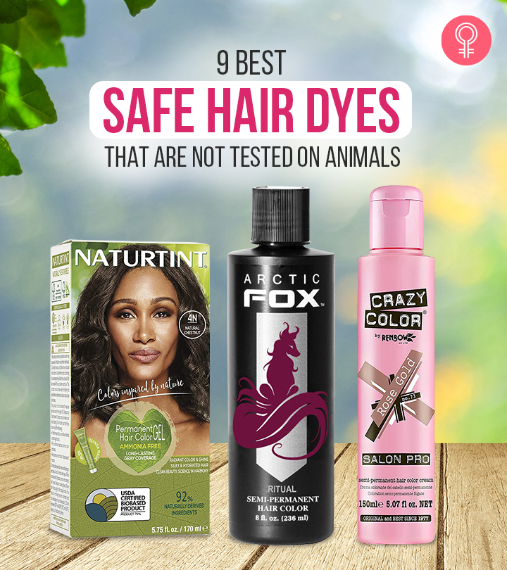 9 Best Safe Hair Dyes That Are Not Tested On Animals