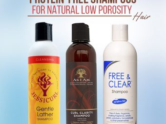 9 Best-Selling Protein-Free Shampoos For Natural Low Porosity Hair