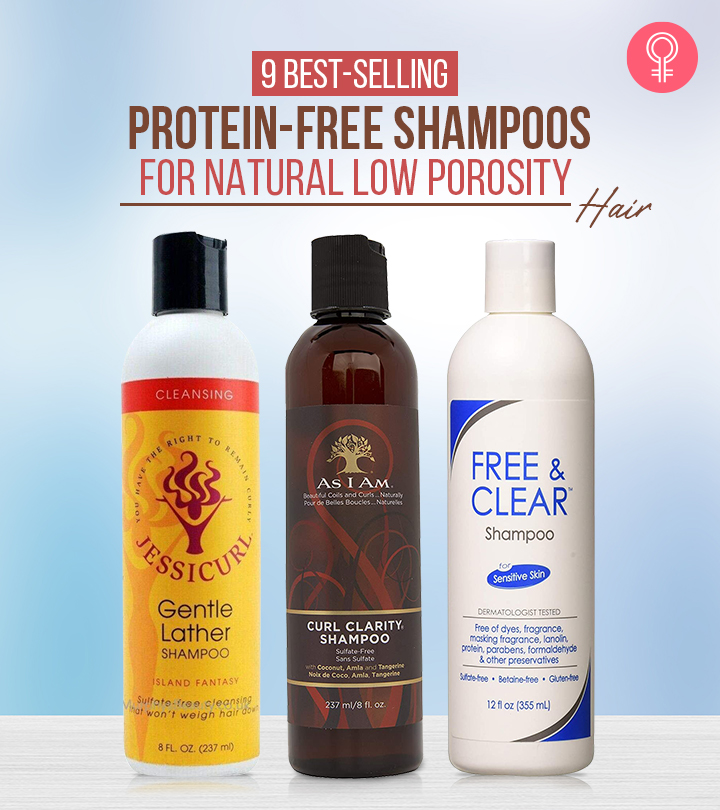 9 Bestselling Protein-Free Shampoos For Natural Low Porosity Hair