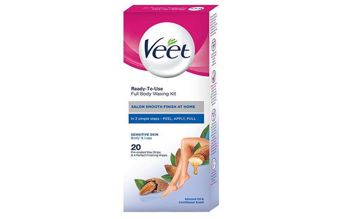 Veet Ready-To-Use Wax Strips – Sensitive Skin