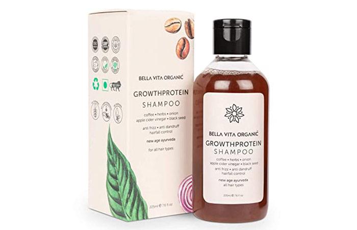 Bella Vita Organic GrowthProtein Shampoo