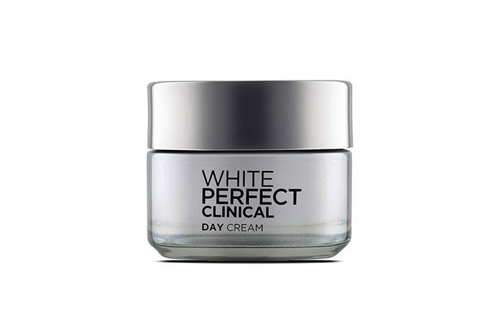 Best Brightening Cream L'OREAL Paris White Perfect Clinical Day Cream