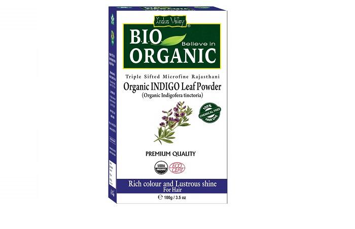 Indus Valley Organic Indigo Leaf Powder