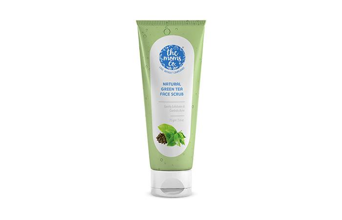 Best Defense - The Moms Co. Natural Green Tea Face Scrub