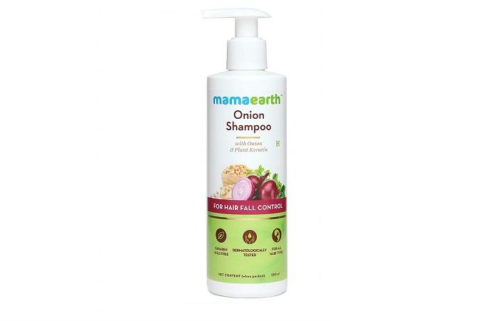 Best For Hair Fall Control Mamaearth Onion Shampoo
