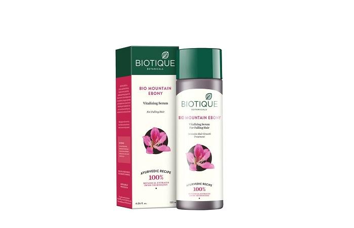 Best For Hair Growth Biotique Bio Mountain Ebony Vitalizing Serum