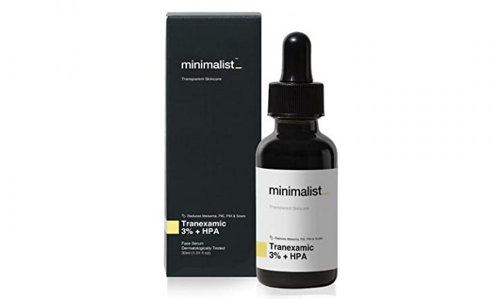 Best For Instant Results Minimalist Tranexamic 3% + HPA