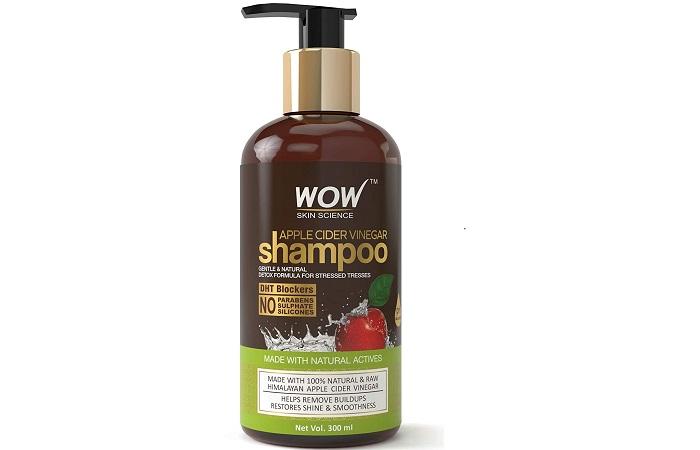 Best For Natural Care WOW Skin Science Apple Cider Vinegar Shampoo