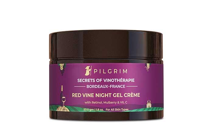 Best For Natural Radiance Pilgrim Red Vine Night Gel Creme