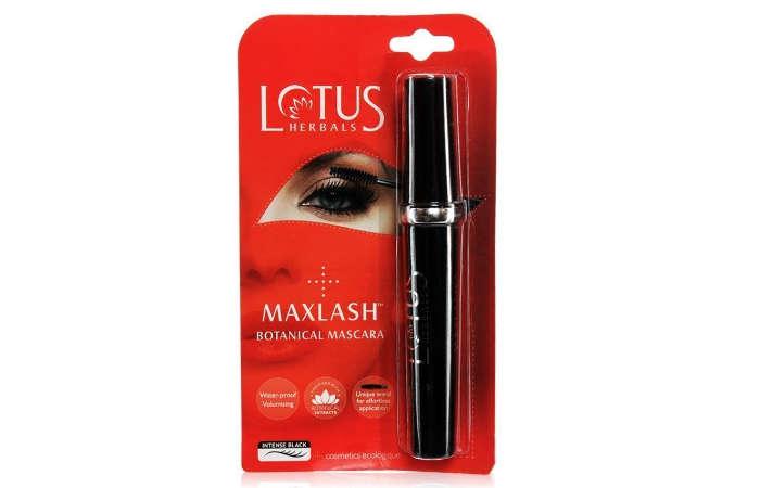 Best For Sensitive Eyes: Lotus Herbals Maxlash Botanical Mascara