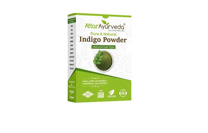 Best Gentle Formula Attar Ayurveda Pure & Natural Indigo Powder