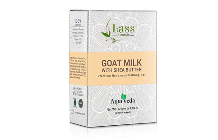 Best Handmade Ayurvedic Formula Lass Naturals Goat Milk With Shea Butter Soap