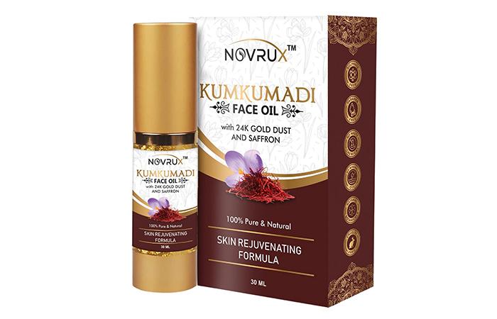 Best Skin Rejuvenating Formula Novrux Kumkumadi Face Oil
