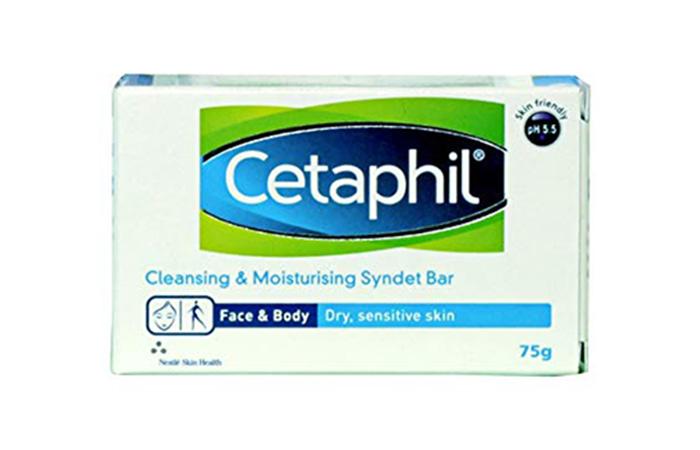 Best skin-friendly Cetaphil Cleansing & Moisturizing Syndet Bar