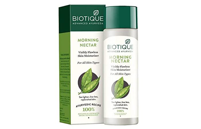 Biotique Morning Nectar Visibly Flawless Skin Moisturizer