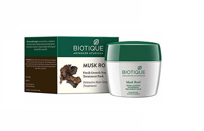 Biotique Musk Root Intensive Hair Growth Treatment Pack