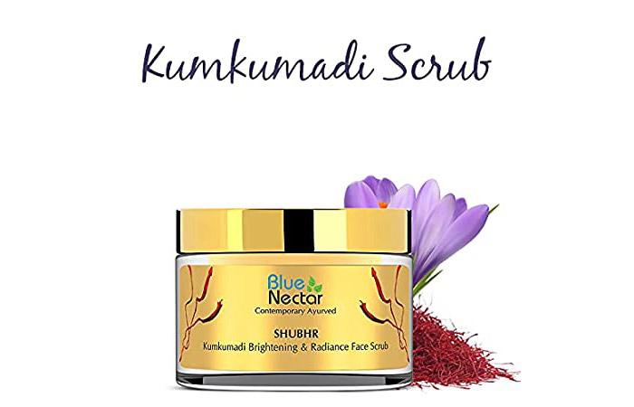 Blue Nectar Shubhr Kumkumadi Brightening & Radiance Face Scrub