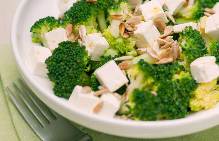 Broccoli Cottage Cheese Salad