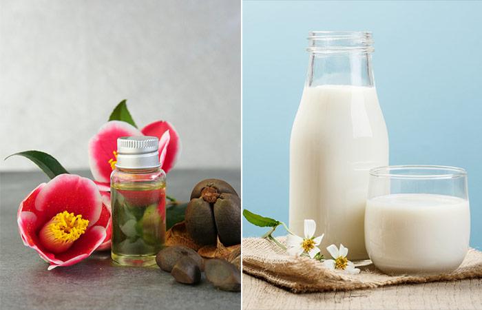 Camellia Oil And Milk