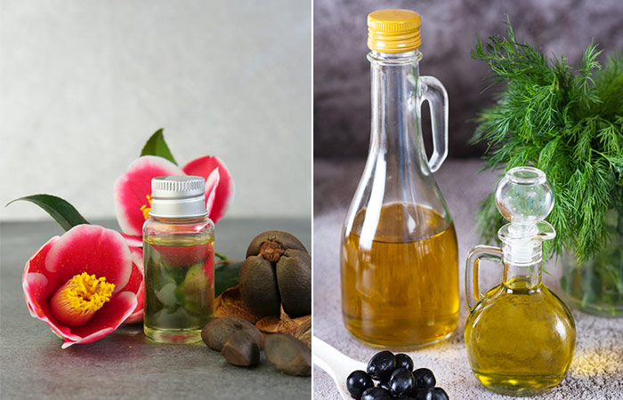 Camellia Oil And Olive Oil