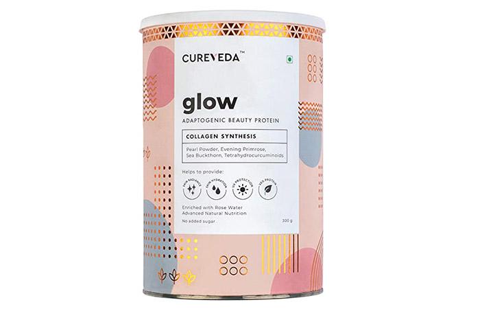 Cureveda Glow Adaptogenic Beauty Protein
