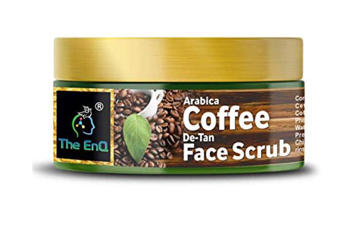 EnQ Arabica Coffee De-Tan Face Scrub