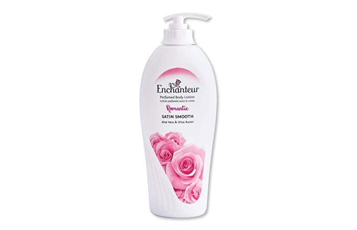 Enchanteur Romantic Satin Smooth Perfumed Body Lotion