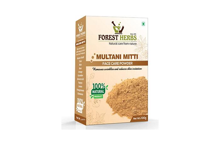 Forest Herbs Multani Mitti Face Care Powder
