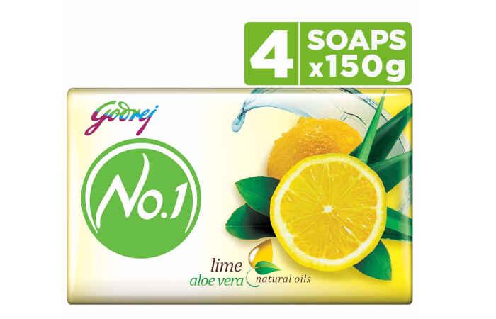 Godrej No.1 Soap - Lime & Aloe Vera