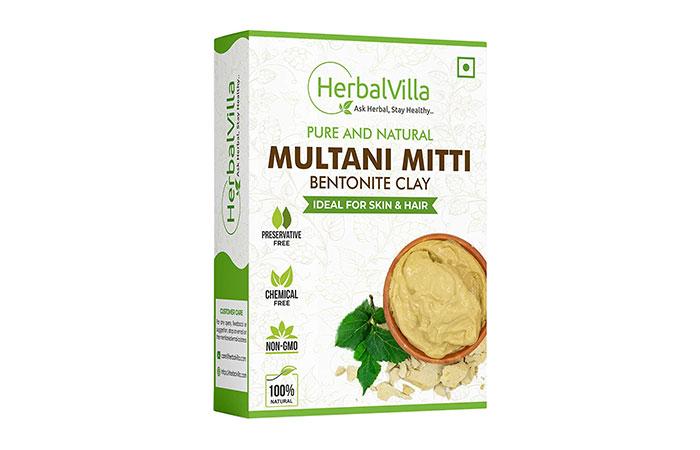 Herbalvilla Pure And Natural Multani Mitti