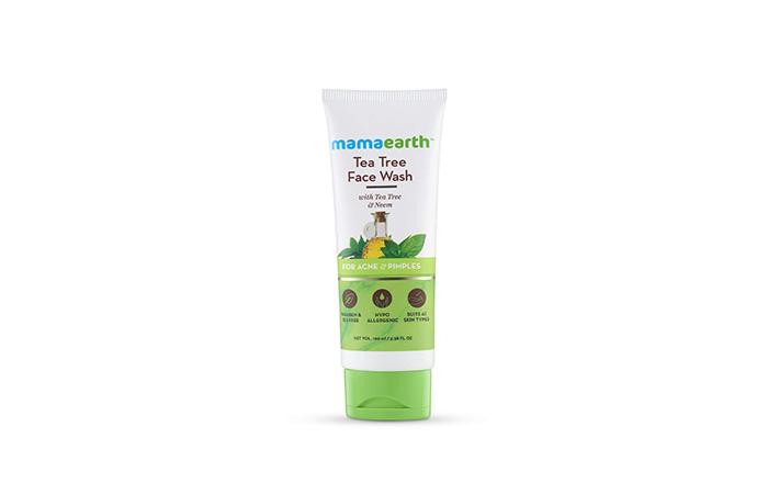 Mamaearth Tea Tree Natural Face Wash