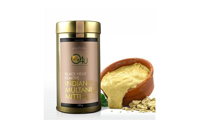 O4U Black Head Remove Indian Multani Mitti Powder