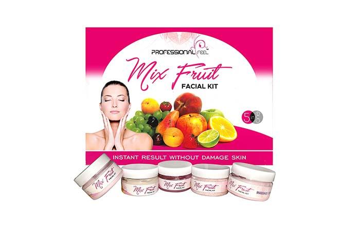 Professional Feel Mix Fruit Facial Kit