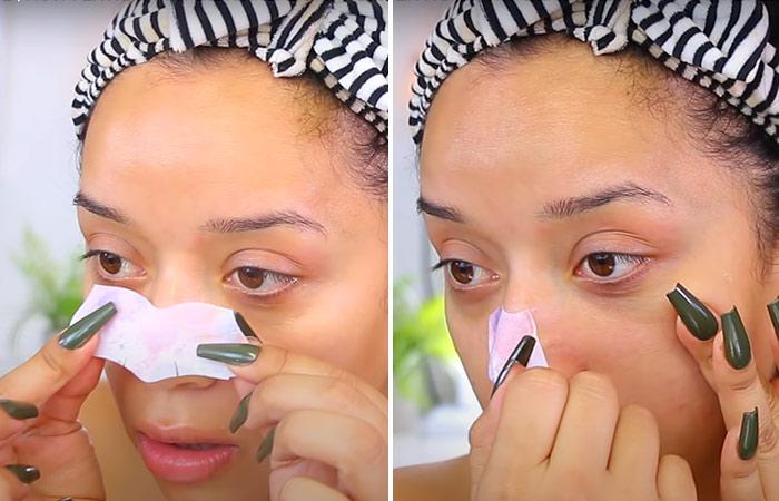 Step 4: Apply The Nose Strip