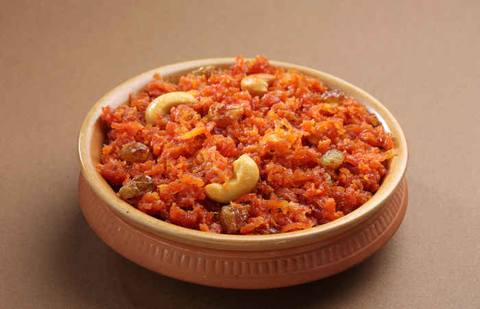 Sweet made with carrot