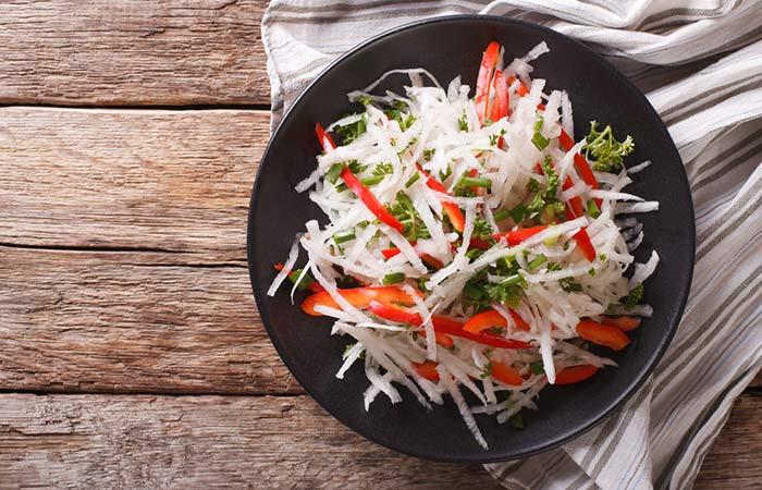 Tangy Daikon Salad