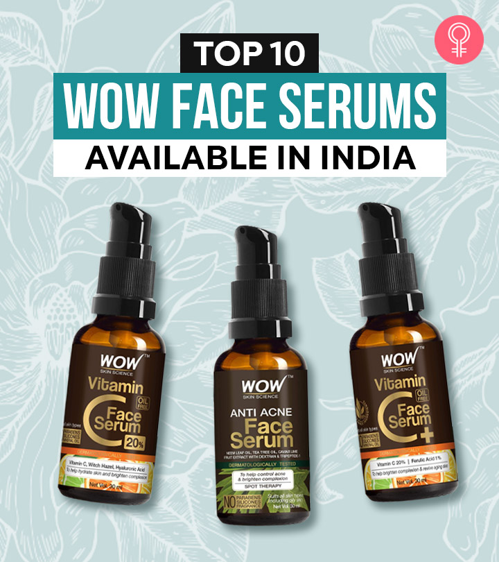 Top 10 Wow Face Serums Available In India – 2021