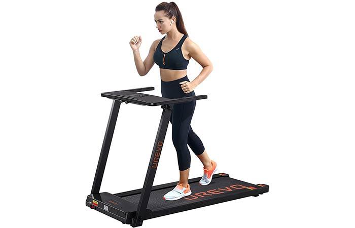 Urevo Foldable Electric Treadmill