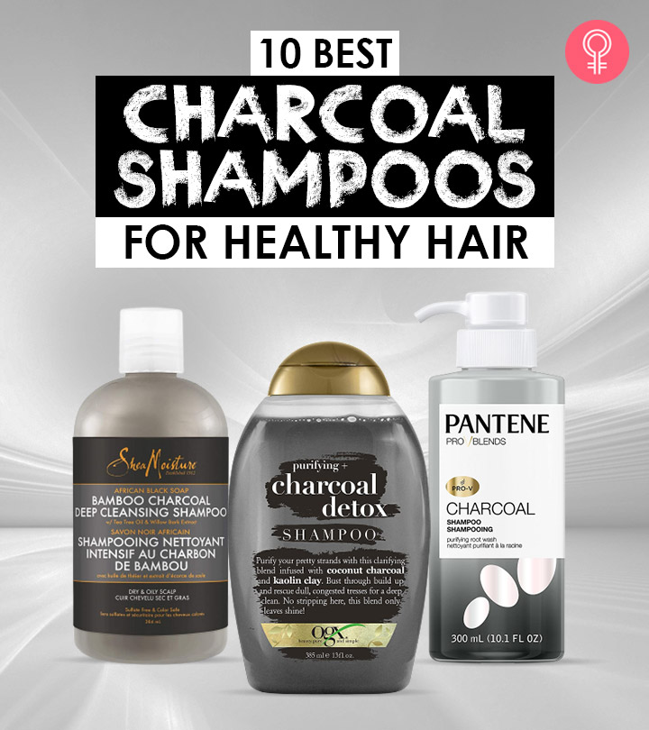10 Best Charcoal Shampoos Of 2021 For Healthy Hair