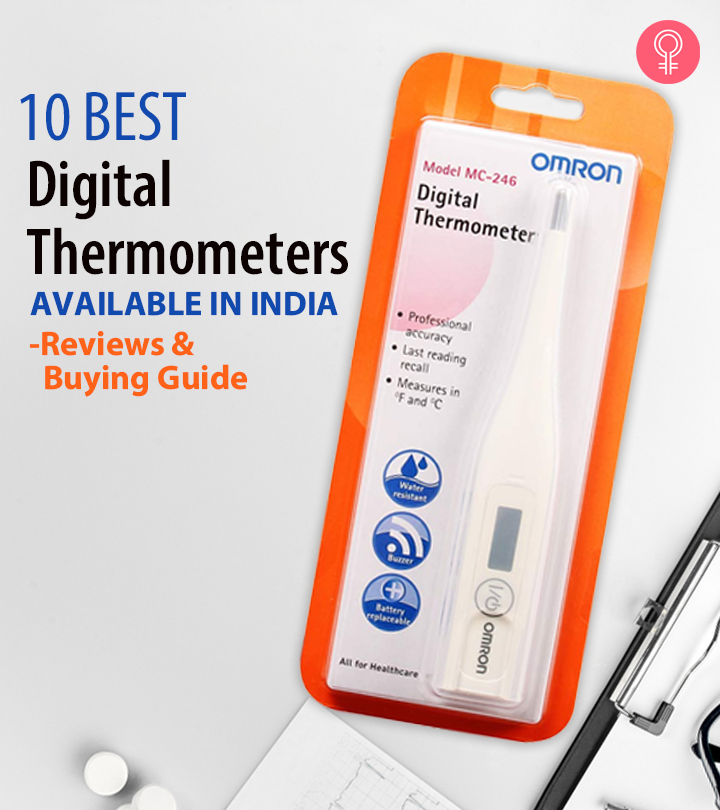 10 Best Digital Thermometers Available In India – Reviews and Buying Guide