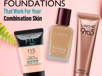 Best Foundations That Work For Your Combination Skin