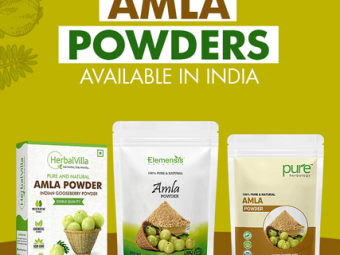 11 Best Amla Powders Available In India - 2021