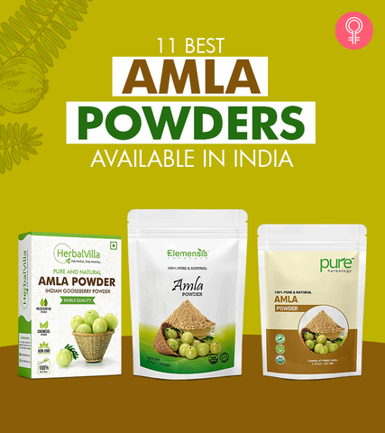 11 Best Amla Powders Available In India – 2021