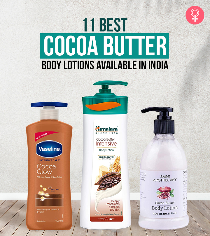 11 Best Cocoa Butter Body Lotions Available In India